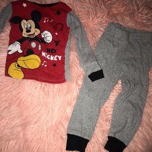 Mickey pjs - 3t